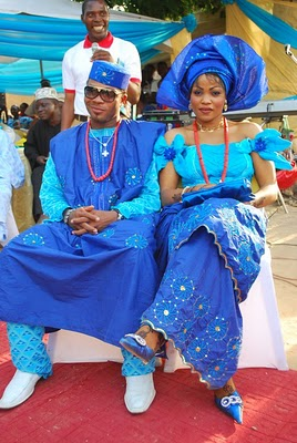 Nigerian Traditional Wedding Couple