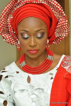 Nigerian Traditional Wedding Gele