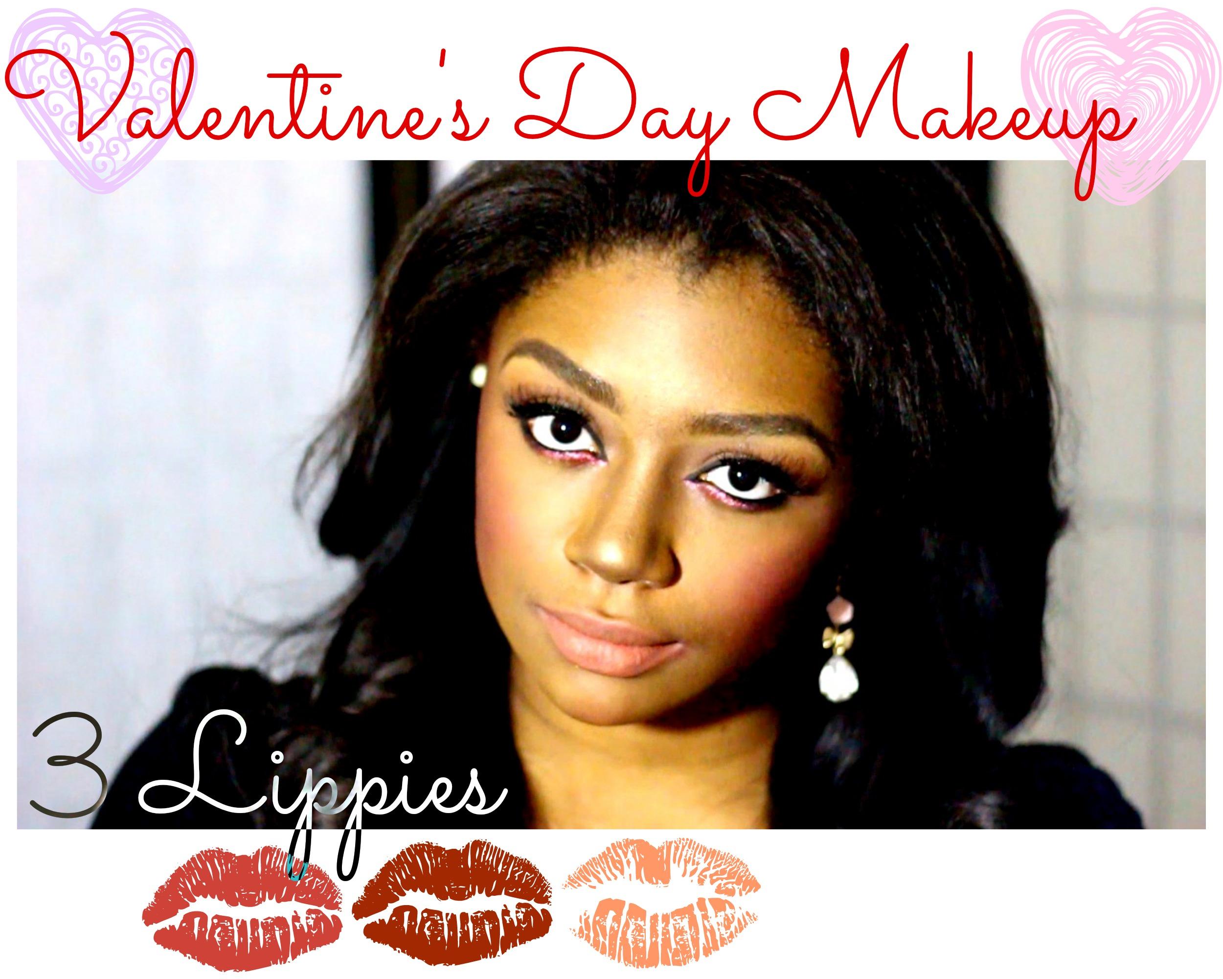 valentine's makeup