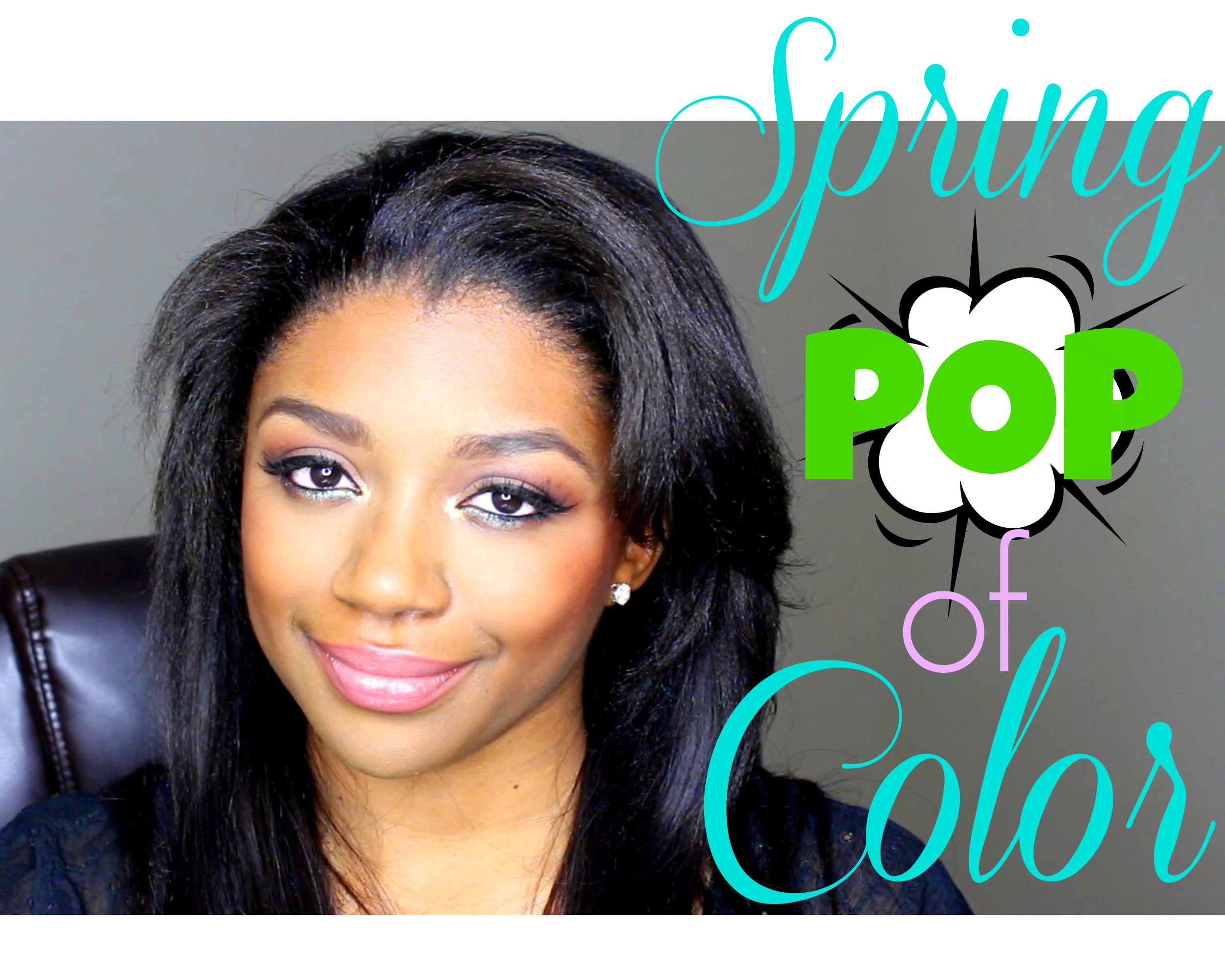 spring pop of color blog post