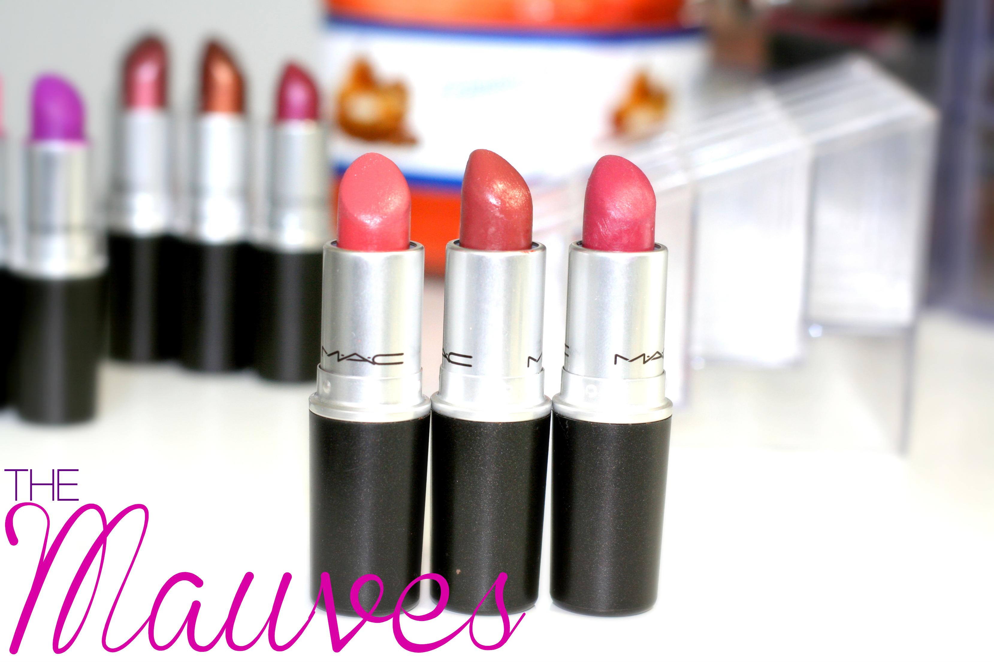 mac mauve lipstick