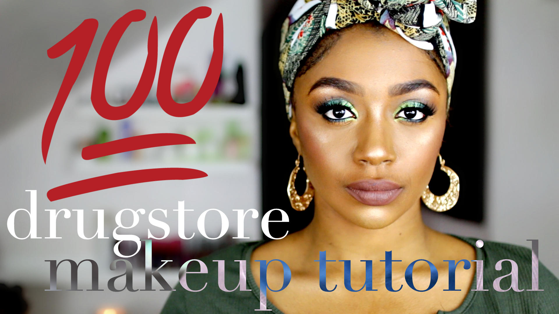 drugstore makeup for dark skin
